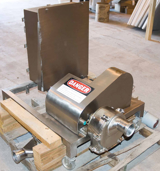 Used Compositech Belt Filter Press